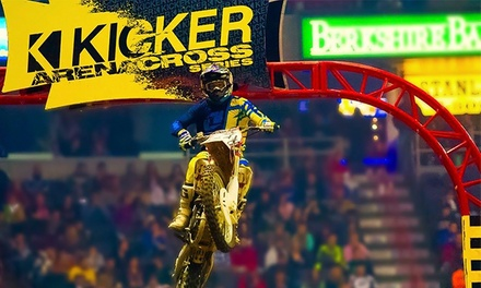 Kicker Arenacross Live Motorcross Event at Santa Ana Star Center (53% Off). Two Dates Available.