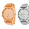 Via Nova Women's Stainless Steel Bracelet Watch