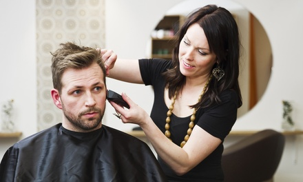 Haircut Package with Optional Partial or Full Highlights at Serode Salon (55% Off)