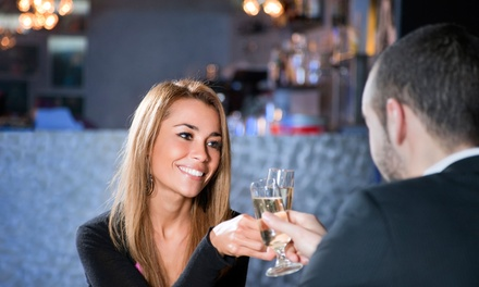 $25 for Speed Dating with Two Drinks and an Appetizer at Bizwala Events ($50 Value)