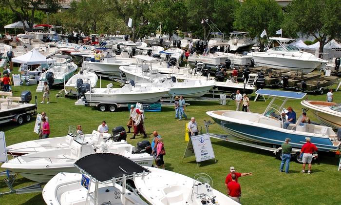 Southeast US Boat Show - Jacksonville Florida's Metro Park & Marina: Two or Four Single Day Tickets to Southeast US Boat Show (31% Off)
