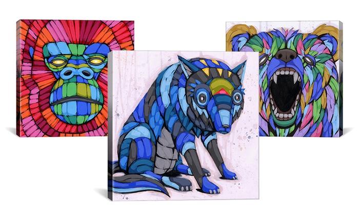 "Ric Stultz Animal Artwork on Canvas: Ric Stultz 26""x26"" or 26""x18"" Animal Artwork on Canvas. Multiple Prints from $36.99—$44.99. Free Shipping and Returns."