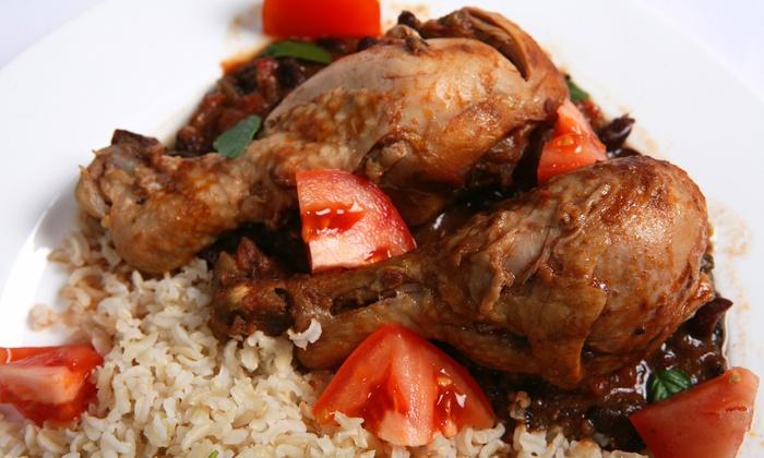 Jamaica Gates Caribbean Cuisine - West Arlington: Lunch Buffet, or $16.50 for $30 Worth of Jamaican Food for Dinner at Jamaica Gates Caribbean Cuisine