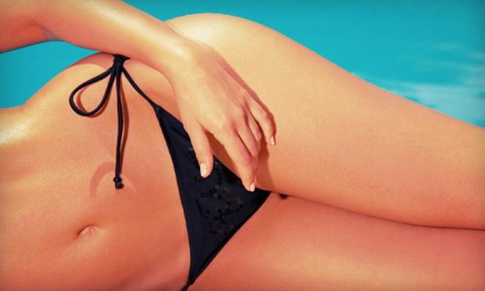 The Centre Spa & Wellness - Capital Hill: Bikini or Brazilian Wax with Option for Lower-Leg Wax at The Centre Spa & Wellness (Up to 54% Off)