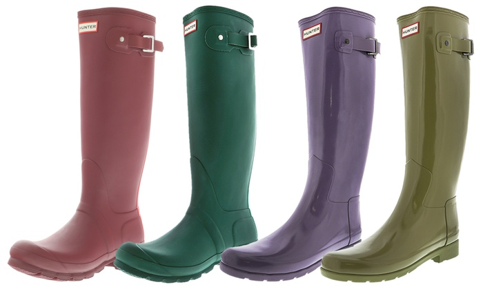 1061cc732 Up To 35% Off on Hunter Women's Rain Boots | Groupon Goods
