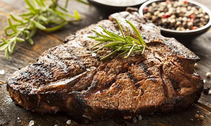 Texas T-Bone Steakhouse - Garden Ranch: $17 for $30 Worth of Steaks and Barbecue at Texas T-Bone Steakhouse