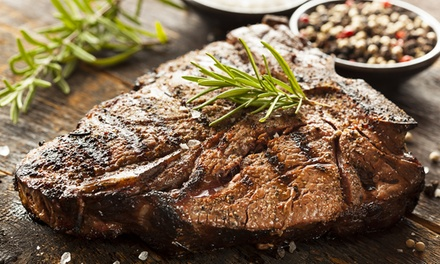 $17 for $30 Worth of Steaks and Barbecue at Texas T-Bone Steakhouse