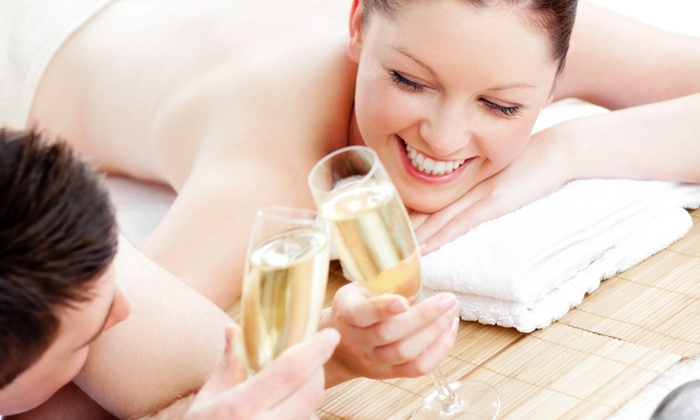 SOMA Get Fit - Santa Barbara Downtown: $109 for Couples Massage with Champagne and Chocolate fromSOMA Get Fit($332 Value)