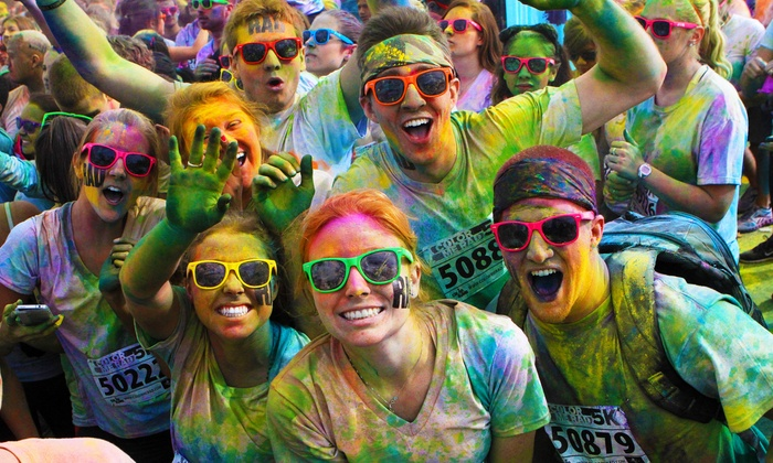 Color Me Rad 5K - Riverfront: $22 for One Entry to the Color Me Rad 5K Run on Saturday, May 3, at 9 a.m. ($45 Value)