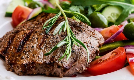 Steakhouse Dinner for Two or Four at Stone Manor 101 (Up to 51% Off)