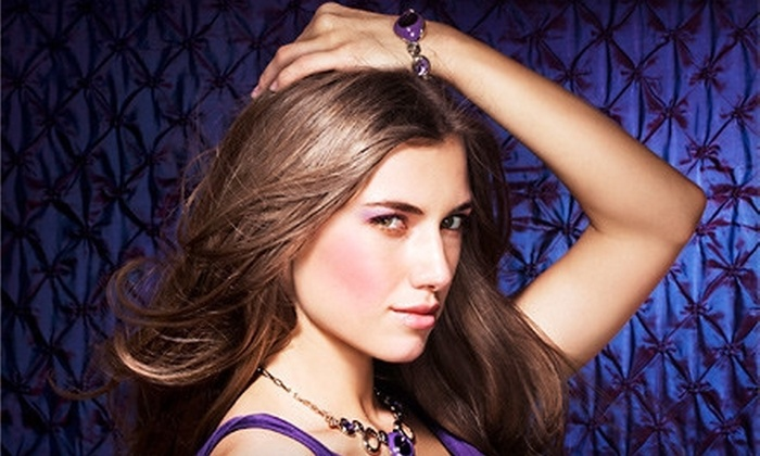 Cranford Hair Company - Cranford: Keratin Treatment with Option for Roots Touchup, Highlights, or Both at Cranford Hair Company (Up to 72% Off)