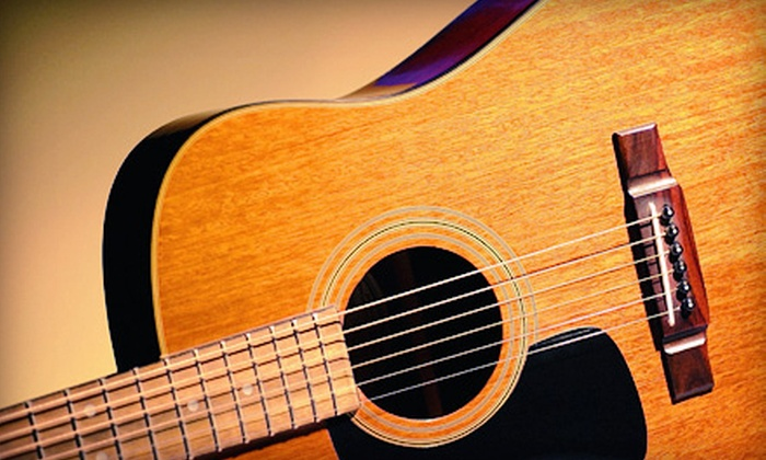 Don't Fret Guitar Studio - Lubbock: Two, Four, or Six Lessons at Don't Fret Guitar Studio (52% Off)