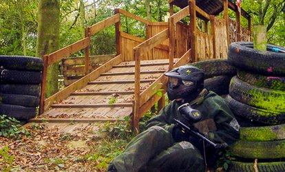 image for Paintball Plus Ammo for Five or Ten with Patriot Paintball (Up to 93% Off)