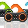 Sharper Image Waterproof Bluetooth Shower Speaker with Hands-Free Mic