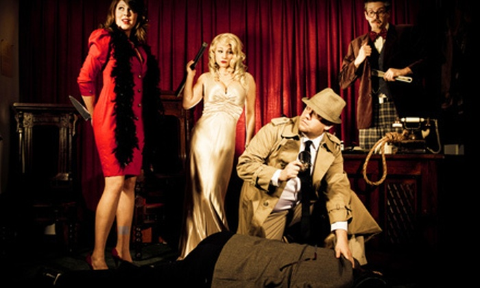 The Murder Mystery Company - Milwaukee: Murder-Mystery Dinner for One or Two from The Murder Mystery Company (Up to 53% Off)