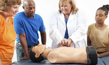 $24 for One Basic Life Support Certification or Re-Certification Course from National Health Care Provider Solutions ($85 Value)