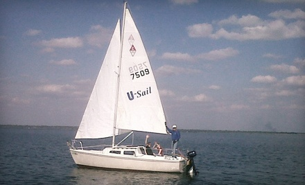 2-Hour Introductory to Sailing Lesson for 2 (a $120 value)  - U-Sail of Central Florida in Sanford