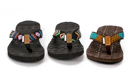 Muk Luks Women's Sport Flip-Flops. Multiple Styles Available. Free Returns.
