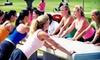 FIT4MOM Santa Cruz - Multiple Locations: 10 or 20 Stroller-Fitness Classes at FIT4MOM Santa Cruz (Up to 58% Off)