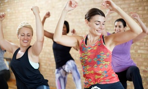 Inspirations Dance and Fitness: One or Six Months of Unlimited Dance-Fitness Classes at Inspirations Dance and Fitness (Up to 50%Off)