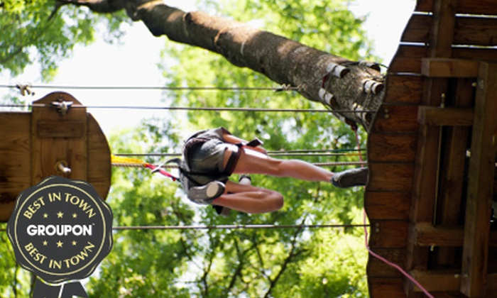 Rope Runners - Brentwood: High Ropes Experience For One or Two from £18 With Rope Runners (Up to 65% Off)