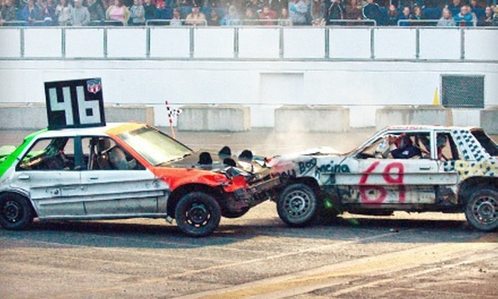 The Spring Fair in Puyallup - Washington State Fair: Monster Truck Show or Demolition Derby for Two at The Spring Fair in Puyallup on April 19, 20, or 21 (Up to Half Off)