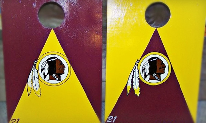 Davis Family Creations - Chesapeake Beach: $135 for a Custom Tailgater Cornhole Set or $50 for $100 Toward Custom Woodworking at Davis Family Creations