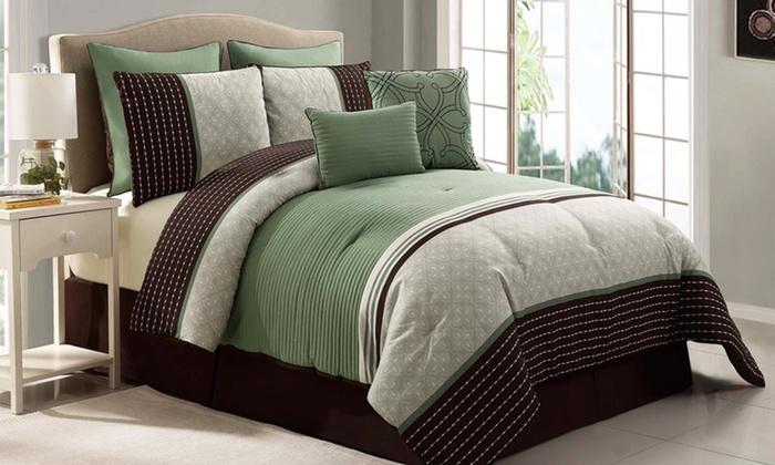 Victoria Classics 8-Piece Comforter Set: Victoria Classics 8-Piece Comforter Set. Multiple Options From $59.99 to $69.99. Free Returns.