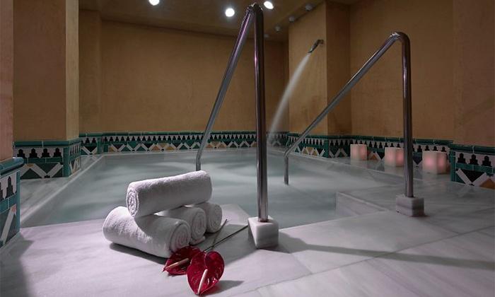 Circuito spa con masaje y cava ba os rabes hotel maci - Hotel macia real de la alhambra banos arabes ...