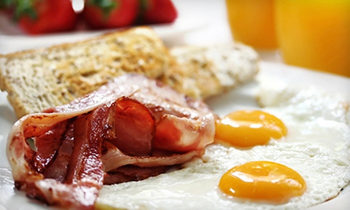 The Half Pint - Greenwich Village: Brunch with Sides and Drinks for Two or Four at The Half Pint (Up to 63% Off)