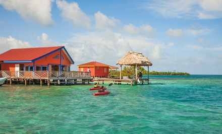 Groupon Deal: 4, 5, or 7 Nights for Two with Meals and Round-Trip Boat Transfers at Yok Ha Resort in Belize. Combine Up to 14 Nights.