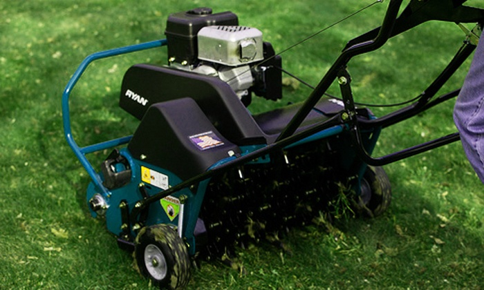 Lawn Love - Orange County: Lawn Aeration from Lawn Love (Up to 50% Off). Three Options Available.