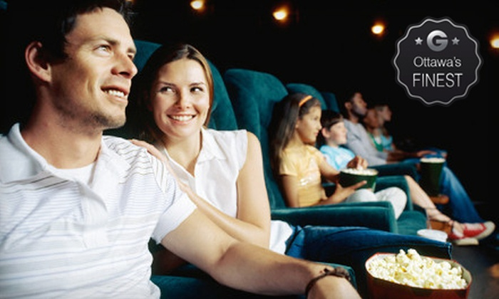 Rainbow Cinemas - Ottawa: $8 for Movie for Two with Popcorn at Rainbow Cinemas (Up to $16 Value)