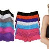 Women's Lace-Trim Cami Bras or Boyshorts (6-Pack)