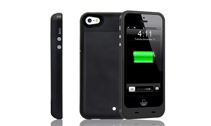 Academy of Commons - Telegraph Hill: $38 for a Black Power iPhone 5 and 5S Case with Backup Battery at Academy of Commons ($80 Value)