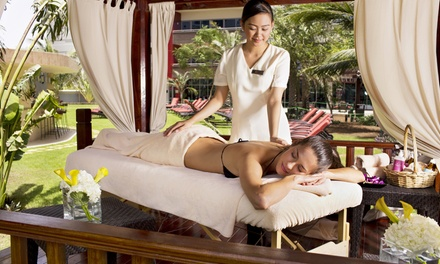 Choice of Massage with Pool Access and Drink for One or Two at Bodylines Fitness & Wellness Club, Park Rotana (66% Off)