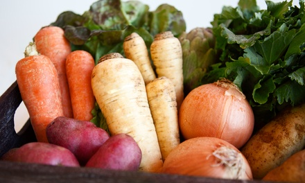 One or Five Groupons, Each Good for One Box of Produce at Swamp Rabbit Cafe and Grocery
