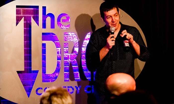Drew Frees - The Drop Comedy Club: Two Tickets to See Drew Frees at The Drop Comedy Club on Friday, May 3, or Saturday, May 4 (Up to Half Off)