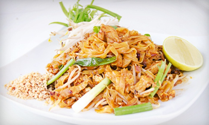 Monora Thai Cuisine - ABC: Food for Two or Four at Monora Thai Cuisine (Half Off)