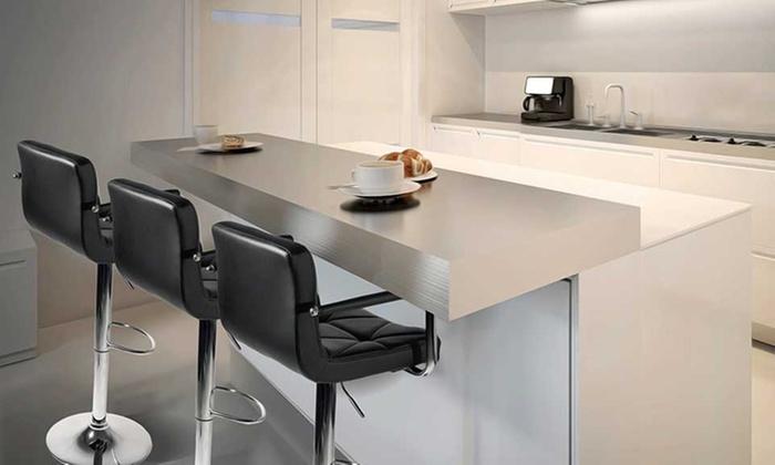 lot de tabourets de bar malvy avec accoudoirs groupon. Black Bedroom Furniture Sets. Home Design Ideas