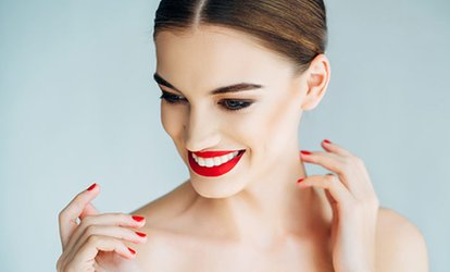 image for Home Teeth Whitening Kit with Custom-Made Trays and Check-Up at Harley Clinic (34% Off)