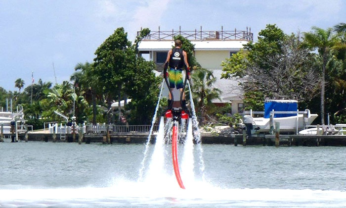 Ironmon Watersports - St Pete Beach: $109 for a One-Hour Flyboard Session with Photo at Ironmon Watersports ($255 Value)