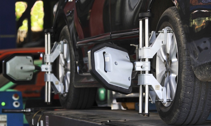 Precision Tune Auto Care - Multiple Locations: $69 for One Year's Worth of Wheel-Alignment Services at Precision Tune Auto Care ($290 Value)