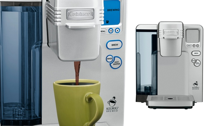 Cuisinart Single-Serve Coffee Maker: $98.99 for a Cuisinart Single-Serve Coffee Maker (Factory Refurbished) ($279.99 List Price). Free Shipping and Returns.