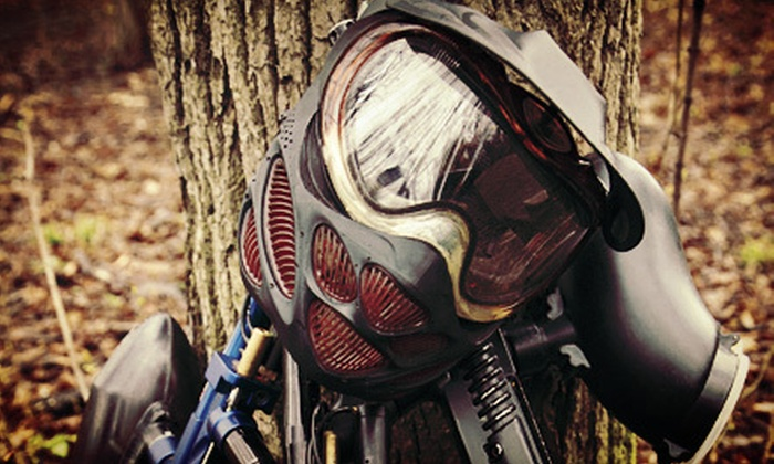Paintball Country - Liberty Twp: Paintball Package for Two or Four or Season Pass with Optional $50 Toward Gear at Paintball Country (Up to 54% Off)