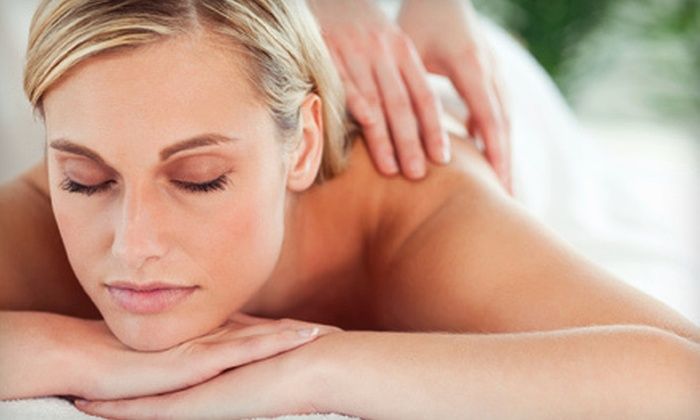 Simple Serenity Spa - Empire Ranch Village: $89 for a Spa Package with a Massage, Body Wrap, Scrub, and Foot Rub at Simple Serenity Spa ($244 Value)