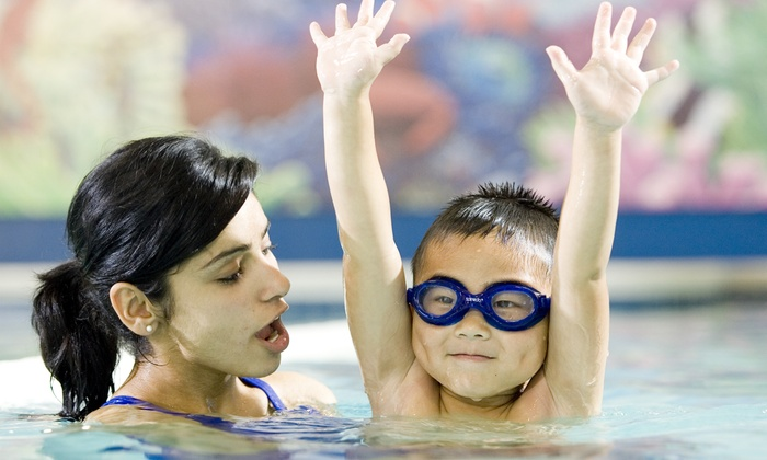 American Swim Academy - Multiple Locations: Four 30-Minute Indoor Lessons at American Swim Academy (Up to 50% Off)
