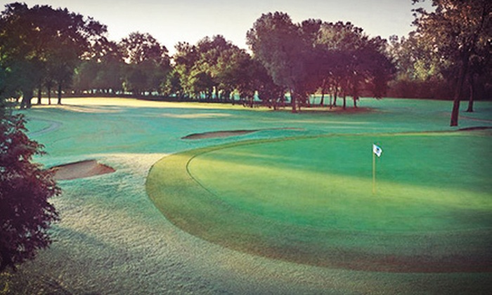 The Trails Golf Club - Norman: 18 Holes of Golf for Two or Four with Cart Rental and Range Balls at The Trails Golf Club (Half Off)