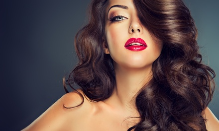 Haircut and Coloring Services at Trieva's Spa & Boutique (Up to 55% Off). Five Options Available.