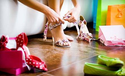 $35 Groupon  - Trendy Heels to Totes in Charlotte
